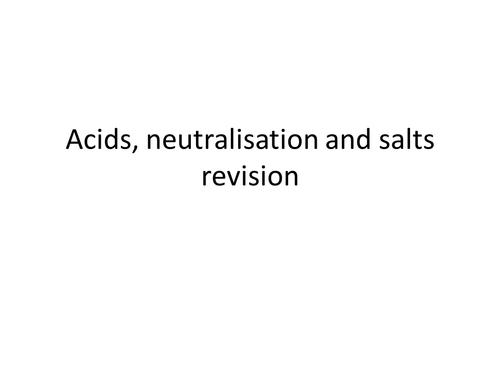 Acid & Bases