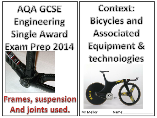 Bicycle frames and suspension