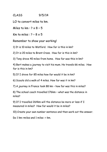 Imperial Metric Conversions By Karenarthurs Teaching Resources Tes