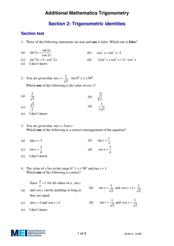 additional maths ocr fsmq