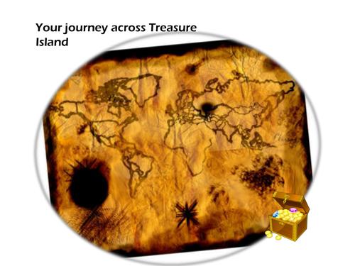 Pirate Treasure Island - Descriptive Writing VCOP