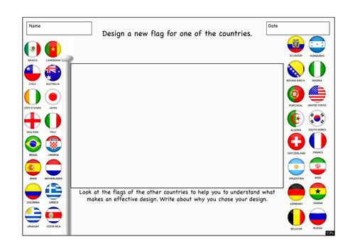 World Cup 2014 - Design a Flag