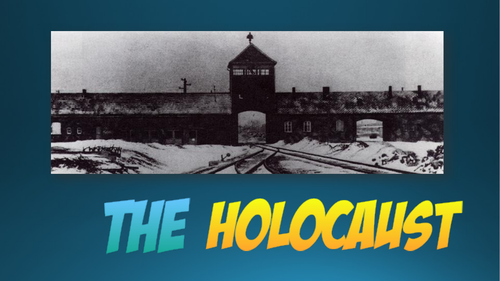 The Holocaust PPT with Supporting Resources