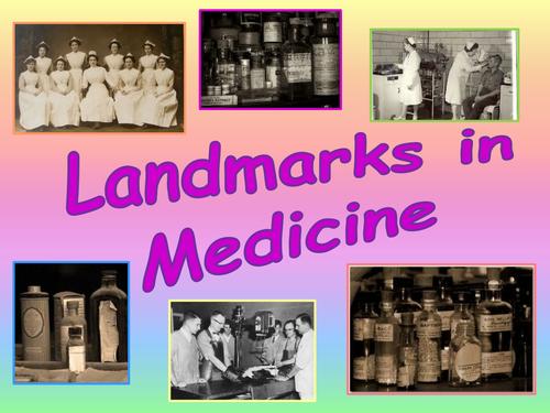 Landmarks In Medicine