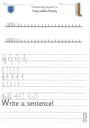 Handwriting Booklet