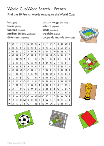 world cup fun word search in french by malahenry. Black Bedroom Furniture Sets. Home Design Ideas