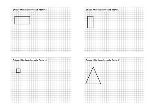 Enlargements worksheet by jad518nexus Teaching Resources TES – Scale Drawings Worksheet