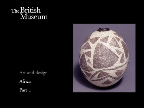 Africa: Art and Design