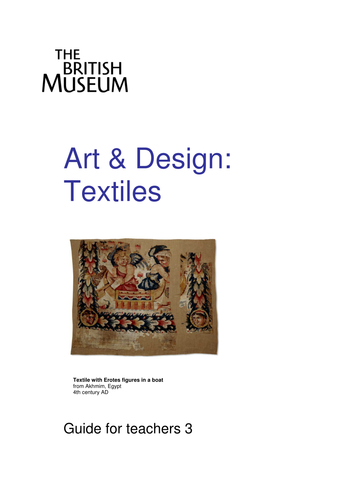 Art guide: textiles