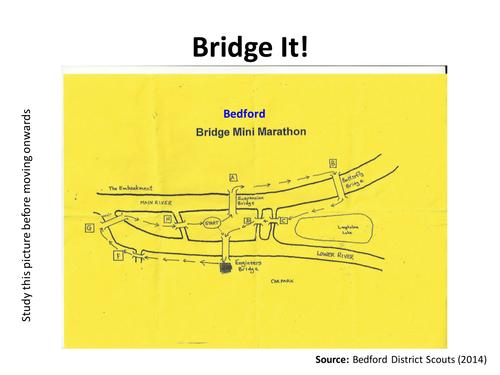 Bridge It! Bridges of Bedford Marathon