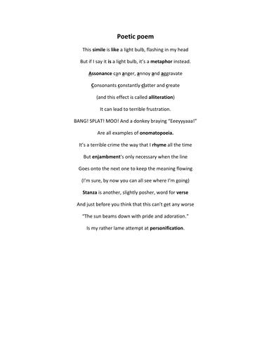 Poetry rap