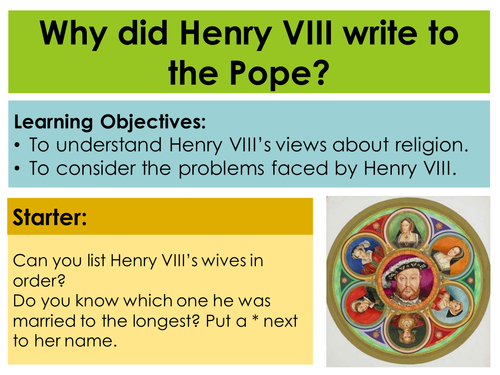henry vll broke with rome essay There were four main reasons that henry viii broke from rome these reasons were power, money, religion and lovepower: henry was desperate for an.