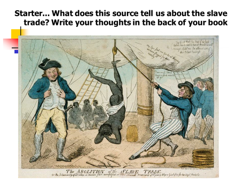 importance of slavery What the history of slavery can teach us about slavery today the most important change is due to that particular constitutional slavery exists today.