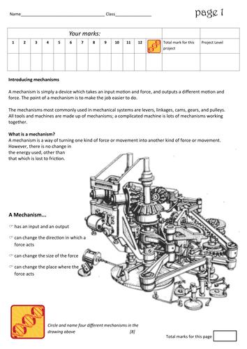 Mechanical bible teaching aid