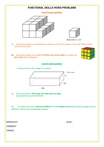 COMPLETE VOLUME OF CUBOIDS LESSON