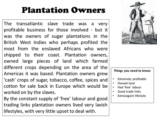 Who Benefited from the Slave Trade?