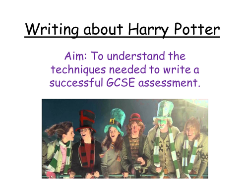 Book or Film? AQA Controlled assessment