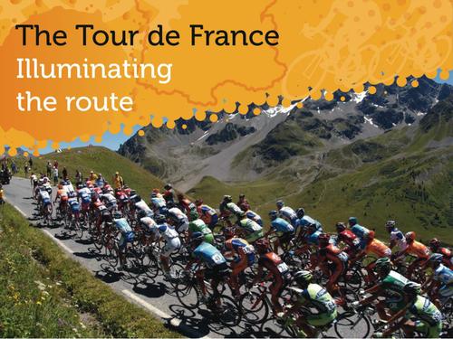 Tour de France - Illuminating the Route
