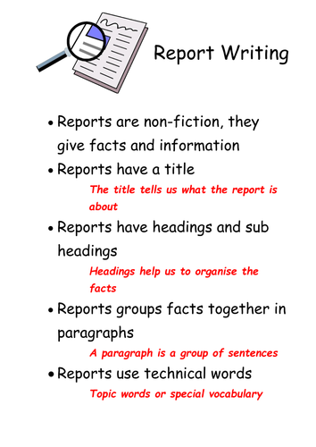 Good Topics To Write A Report On