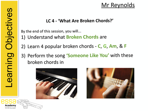 Someone Like You\' by Adele Lesson by pete216state - Teaching ...