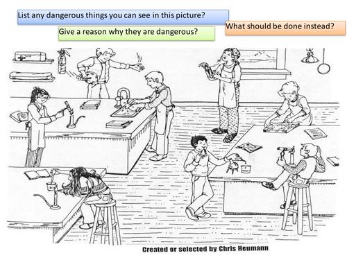 Lab Safety Cartoon Answer Key