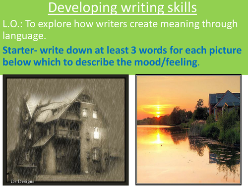 Pathetic Fallacy KS3