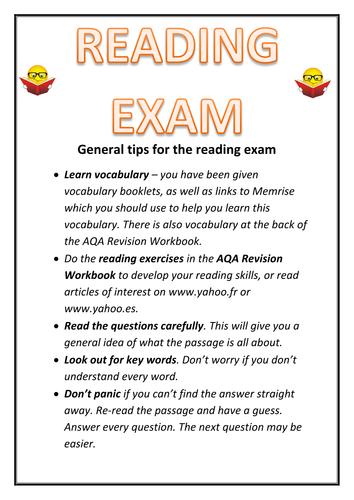 GCSE MFL: Reading and Listening Tips