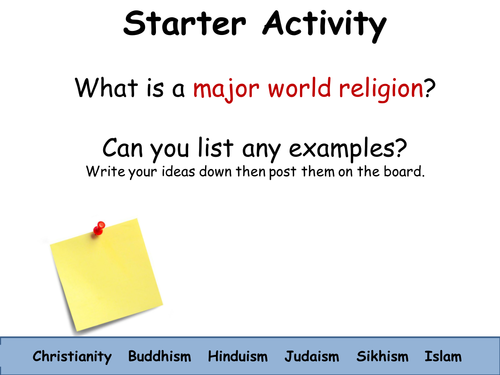 Whhat Are The Major World Religions By Samanthajanesims - List of major world religions