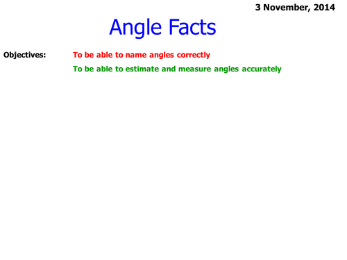 Angles Activity Using a Protractor Worksheet by clairerennie44 – Using a Protractor Worksheet