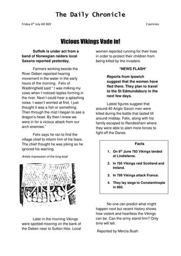 460aa9dd Viking newspaper report