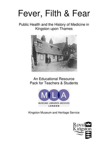 Public Health-The History of Medicine in  Kingston