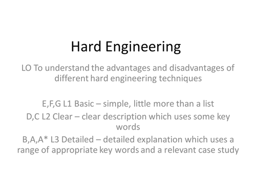 Hard Engineering Ventnor IOW Case study