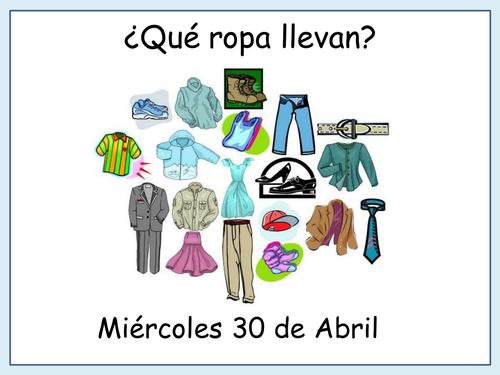La ropa de Carlos a reading test by mexicano Teaching – La Ropa Worksheet