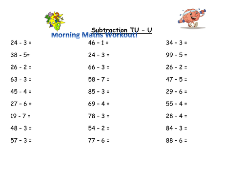 Year 2 Maths Worksheets from Save Teachers Sundays by – Year Two Maths Worksheets