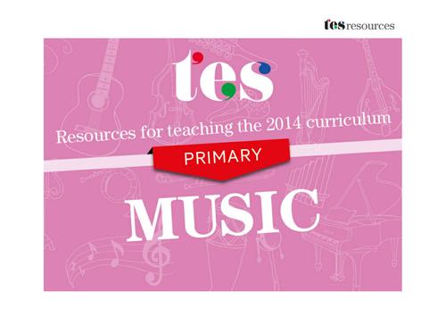 New curriculum 2014: Primary music