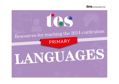 New curriculum 2014: Primary French