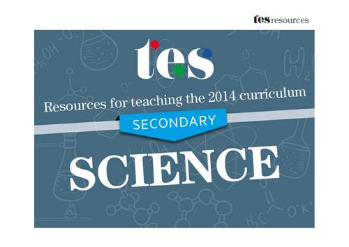New curriculum 2014: Secondary biology