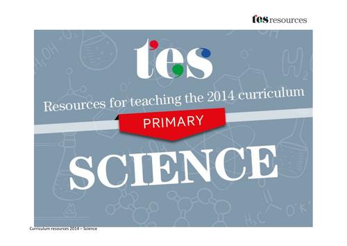 New curriculum 2014: Primary science