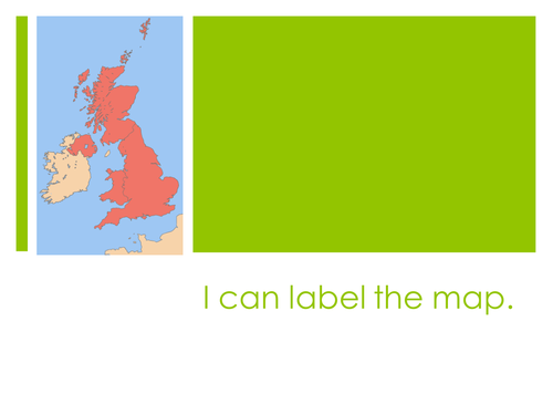 Labelling the United Kingdom by hannahball297  Teaching