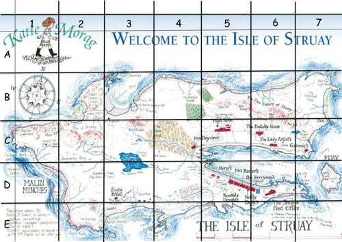 Katie Morag Grid Referencing Worksheet by jodieclayton Teaching – Map Grid Worksheets