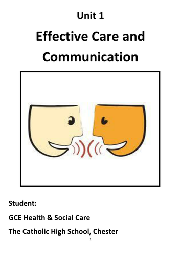 effective communication in health and social