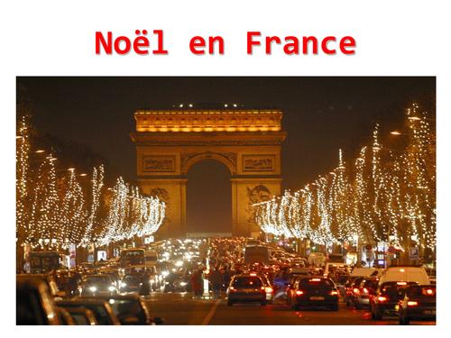 Noel En France Christmas in France   Noël en France | Teaching Resources