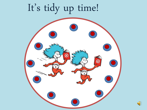 Dr. Seuss Tidy up/Pack away powerpoint
