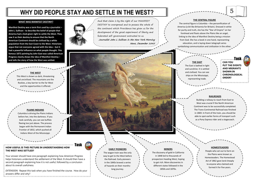 Manifest Destiny Mindmap using American Progress by suwilliams23 ...