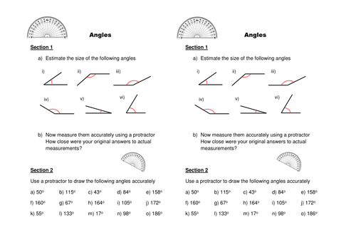 Drawing Lines In Cm Worksheet : Drawing measuring angles by caleech teaching resources