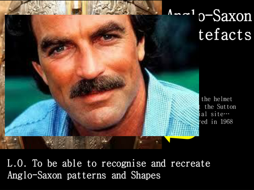 Anglo Saxon Artefacts - feat Tom Selleck