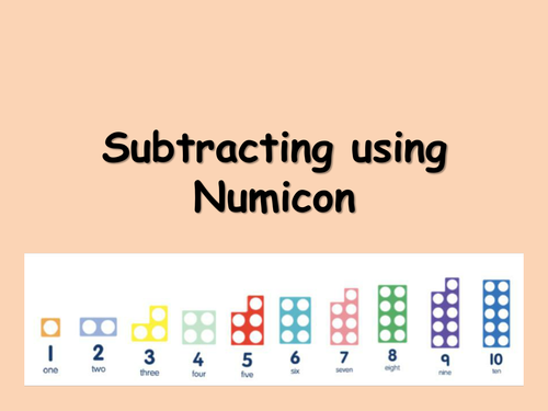 Subtraction from 10 using Numicon by choralsongster - Teaching ...