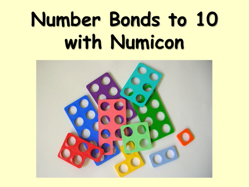 Number bonds to 10 Numicon worksheet by sammybusted Teaching – Number Bonds to 10 Worksheet