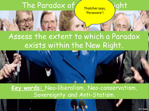 Conservatism - Paradox of the New Right