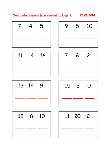 Ordering numbers from smallest to largest by seanb88 teaching ordering numbers from smallest to largest by seanb88 teaching resources tes ibookread Download